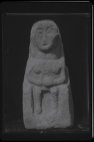[Caerwent (Wales), ancient stone sculptures of goddess]