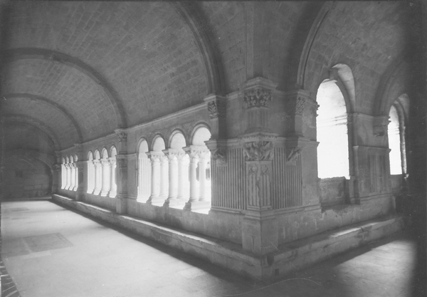 [Arles (France), cloister of the church of Saint Trophime]