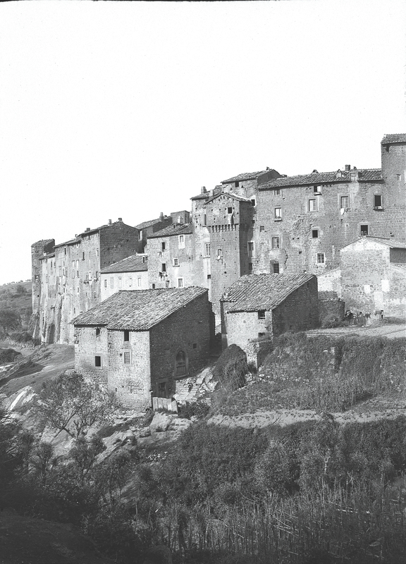 [Bagnaia (Italy), partial view of the town]