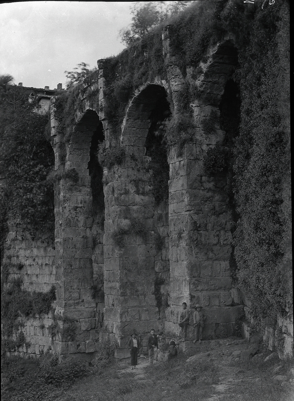 [Anagni (Italy), ancient wall, arcades called Arcazzi di Piscina]