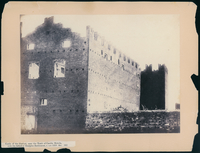 Castle of the Gaetani, near the Tomb of Caecilia Metella, with the forked or Guelphic Battlement, c. A.D. 1310