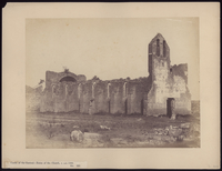Castle of the Gaetani, ruins of the church, c. A.D. 1300